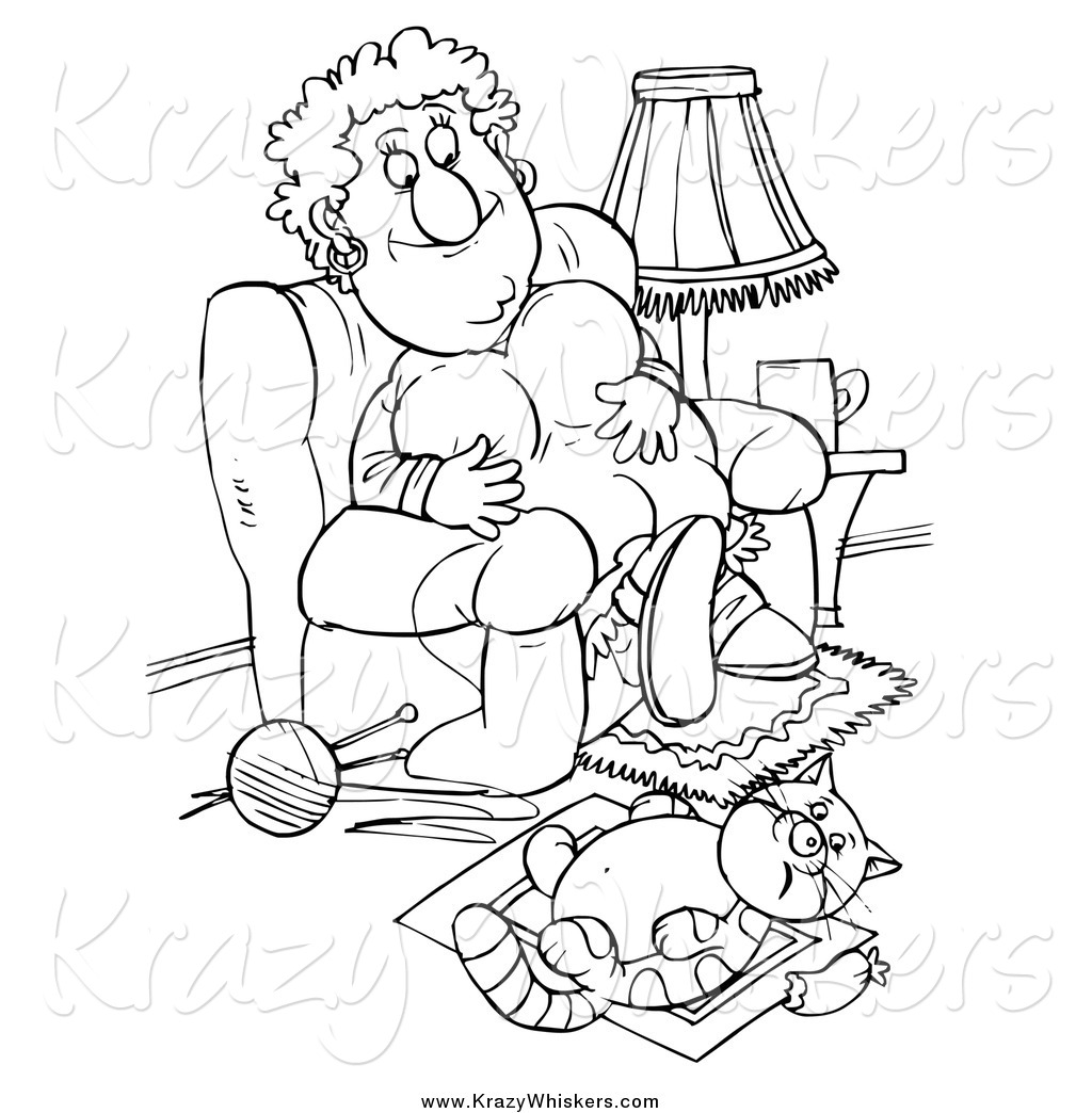 lazy clipart black and white - photo #21