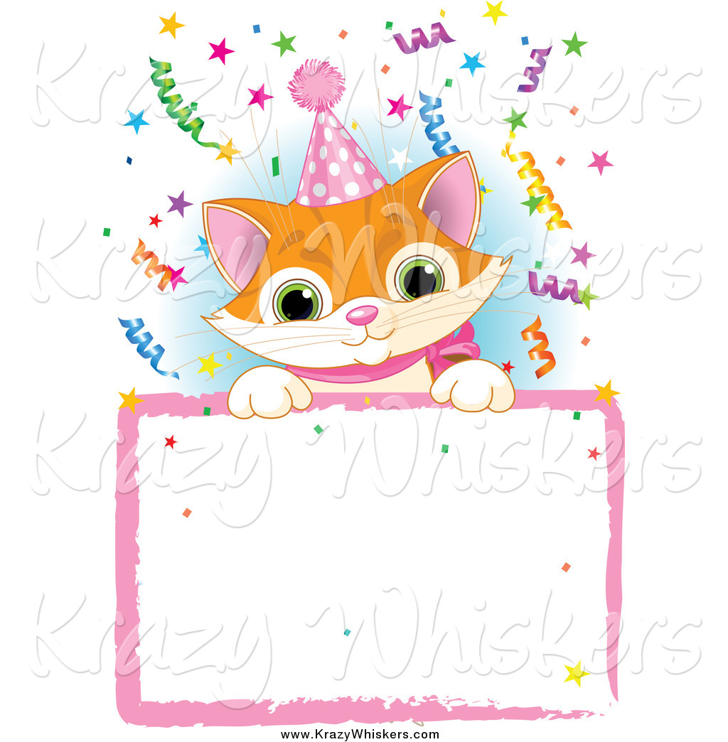 Cute Kittens Wearing Hats Kitten Wearing a Party Hat
