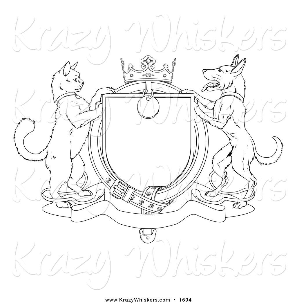 royalty free stock animal designs of printable coloring pages
