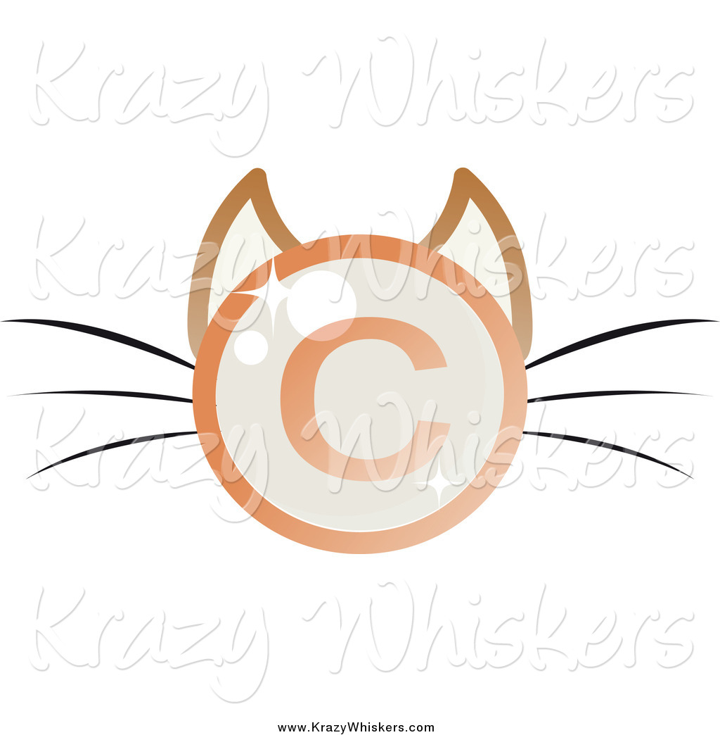 Critter clipart of a shiny copyright symbol cat face by melisende critter clipart of a shiny copyright symbol cat face biocorpaavc
