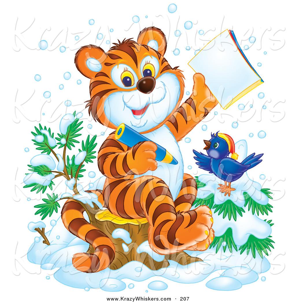 Рисунок к сказке про мальчика который рычал на тигров 3