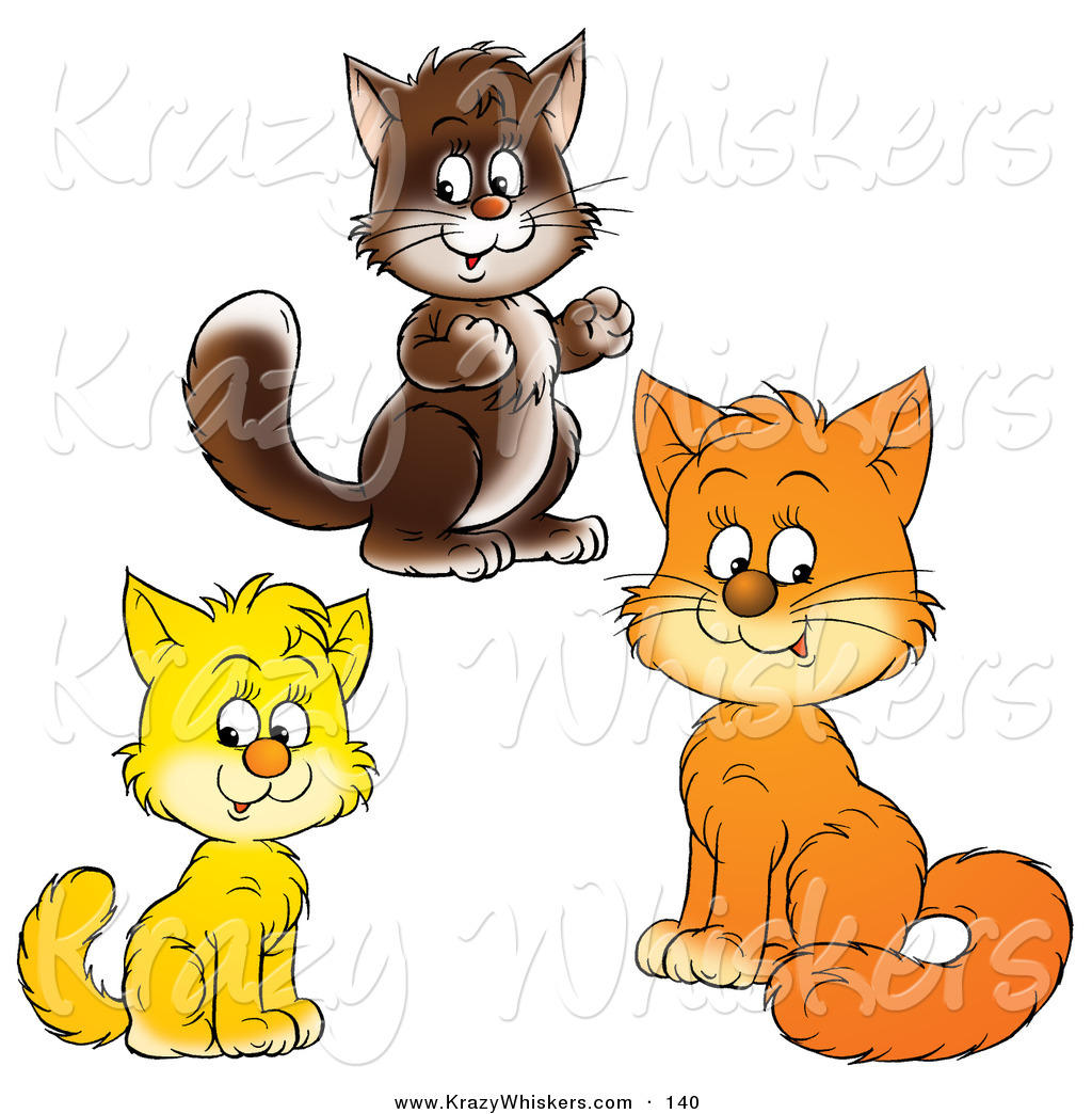 royalty free stock animal designs of kitty cats page 3 cat clip art cat clip art