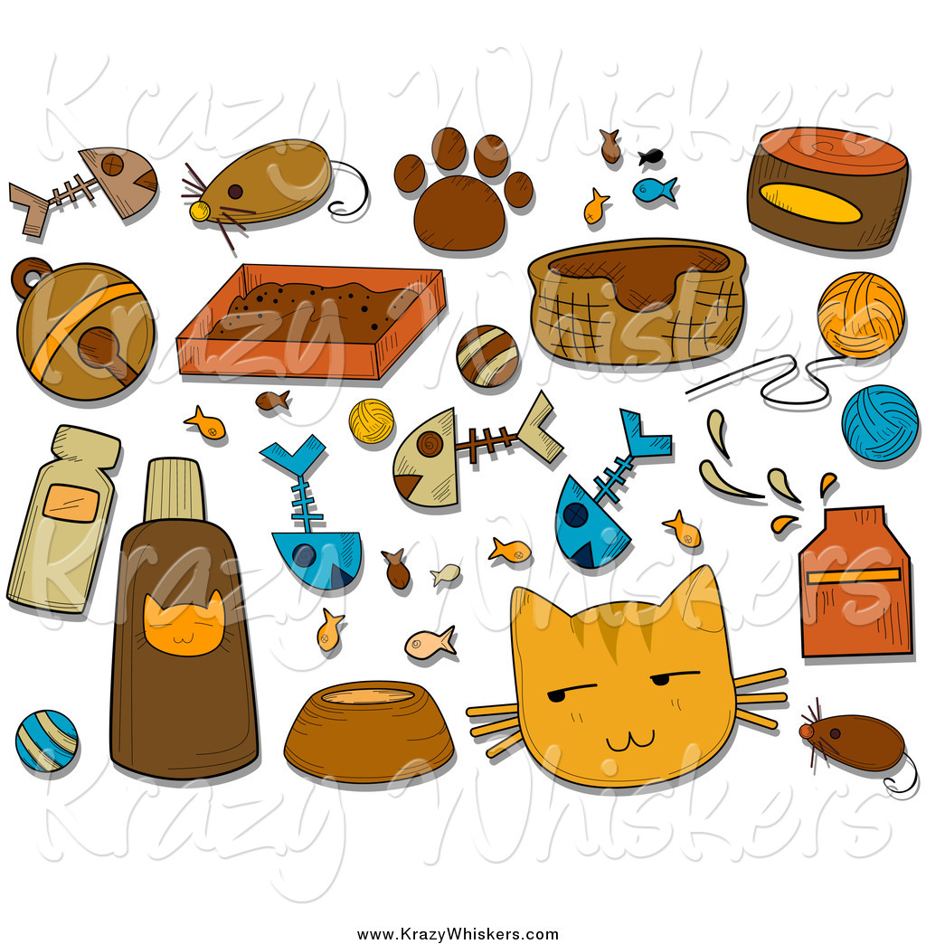 clipart cat toys - photo #5