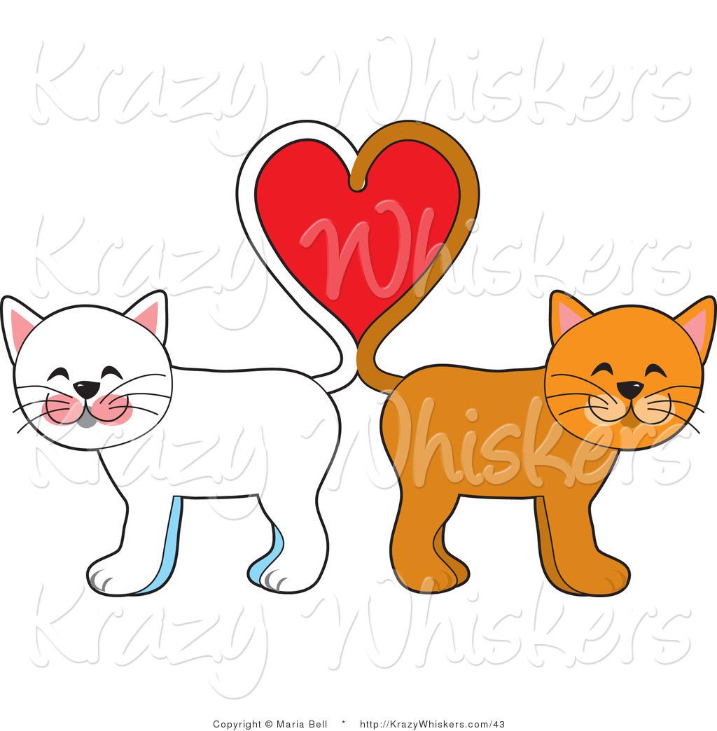 cat heart clipart - photo #8