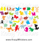 Critter Clipart of Colorful Bugs and Animals by Alex Bannykh